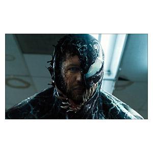 Неформатный постер Venom. Размер: 50 х 30 см